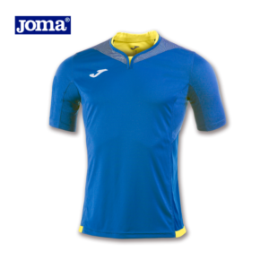 MAILLOT BLEU ROI COLLECTION SILVER JOMA